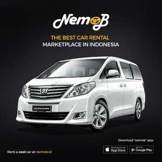 Promo Sewa Alphard + Dekor Bunga di Medan Hanya di Nemob.id