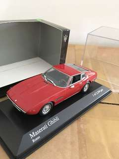 1/43 Maserati Ghibli. 1969. Red.