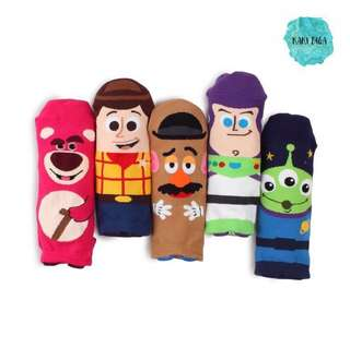 Kaos Kaki Toy Story Import Korea