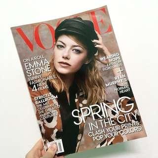Emma Stone for Vogue Magazine May 2014