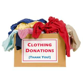 Used/unused clothes donation