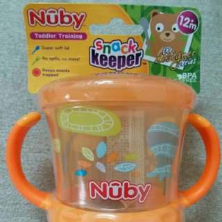 New Nuby snack keeper