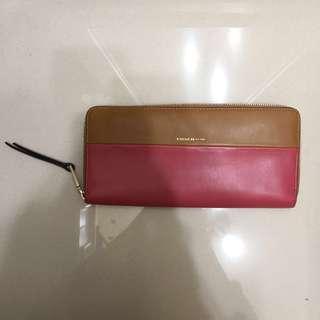 Coach long wallet- dual color