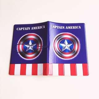 Captain America 3D Passport Cover Brand New