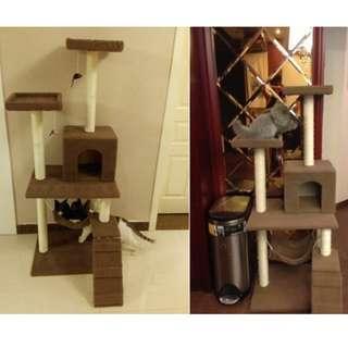 Cat Condo - 1.5M Brown
