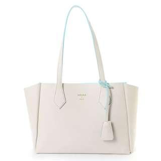 Japan Samantha Thavasa Colors By Jennifer Sky Charm Tote Bag (beige)