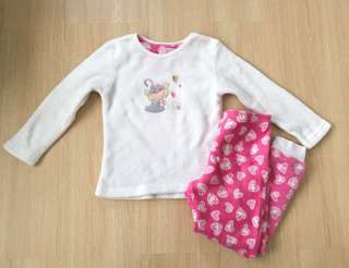 Monkey Fleece Pyjamas