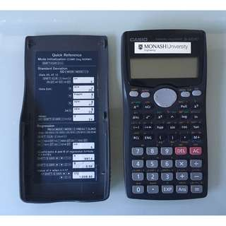Casio Scientific Calculator FX-100AU S-V.P.A.M.