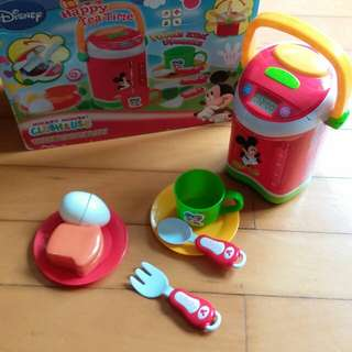 正版 Mickey Mouse Kettle 茶壼套裝玩具