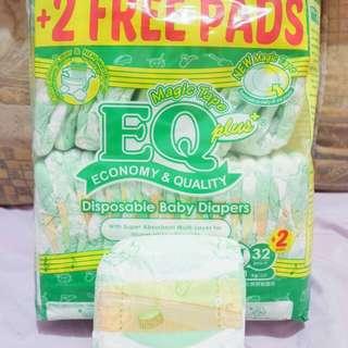 EQ diaper-Medium