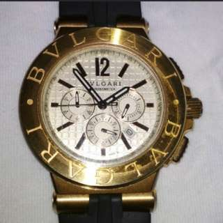 Bvlgari Diagono Authentic Watch 100%