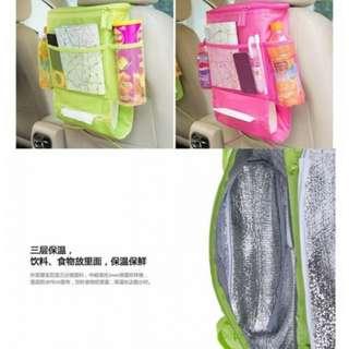 車用保溫收納袋 顏色:粉/藍/綠