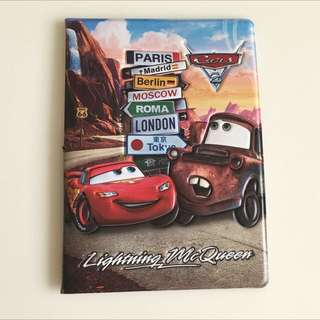 3D Cars Passport Cover Brand New