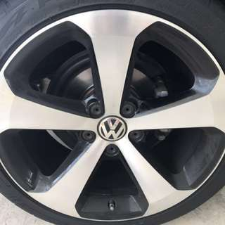 Scirocco facelift stock rims