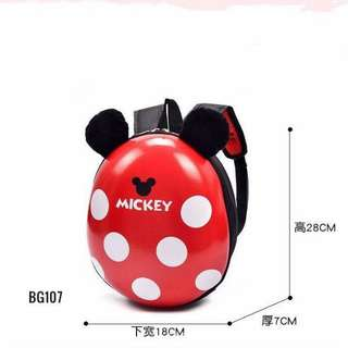 Mickey egg backpack