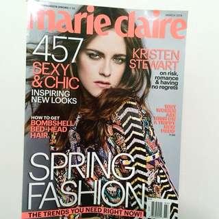 Kristen Stewart for Marie Claire March 2014