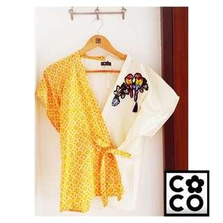 Kimono batik modern