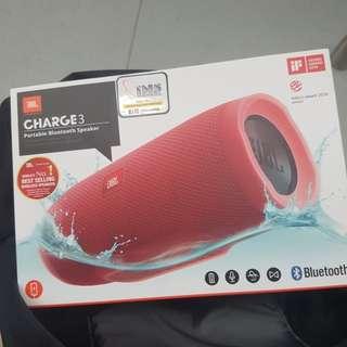 BNIB Jbl Charge 3 (Red)