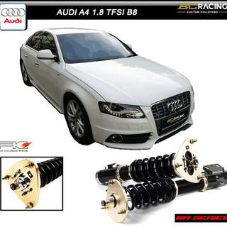 AUDI A4 1.8 B8  - BC RACING BR SERIES COILOVER