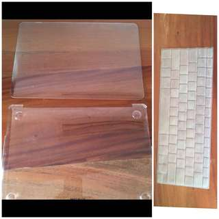 Macbook air 13 inch laptop cover and keyboard cover