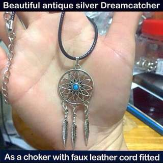 Dreamcatcher choker (antique silver) [ necklaces children teachers day birthday party door graduation farewell bff gifts handmade uncle.anthony uncle anthony uac] FOR MORE PHOTOS & DETAILS, GO HERE: 👉 http://carousell.com/p/79243516