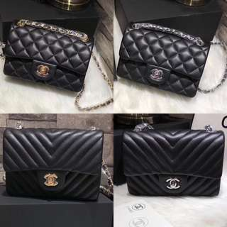 Chanel Black Classic Quilted Mini 2.55 Flap Bag 20 (Best Selling,Quality Guaranteed)