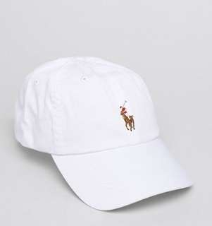 POLO RALPH LAUREN PONY CAP帽成人款彩LOGO