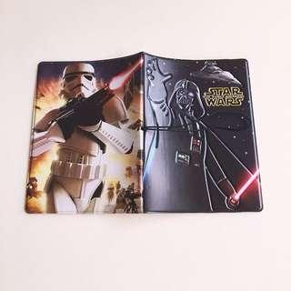 3D Star Wars Passport Cover Brand New
