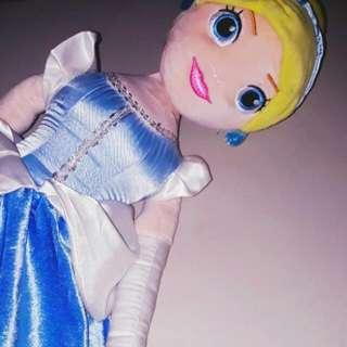 Cinderella Stuffed Doll Big