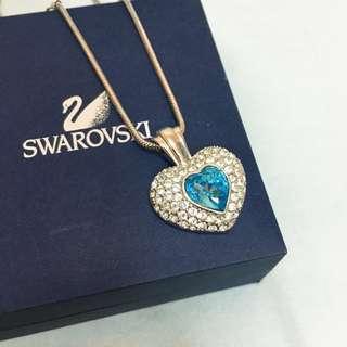 Swarovski heart-shape necklace