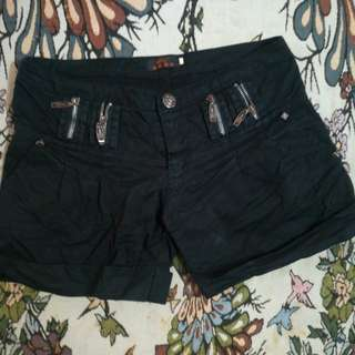 Zipper style Short