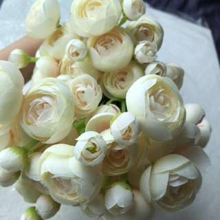 Wedding - Artificial Champagne Flower