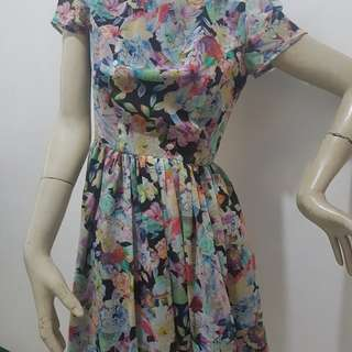 Repriced !Topshop floral dress