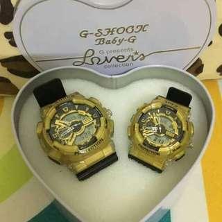 G Shock Couple Watch