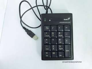 Genius Portable USB Numeric Keypad