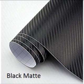 CARBON FIBER STICKERS