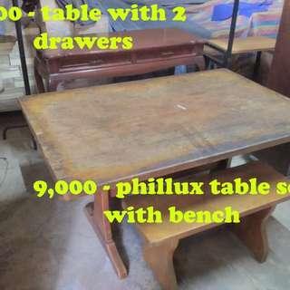 Various Old Furnitures