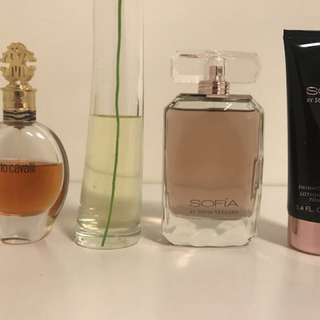 Versace Yellow Diamond Cavalli KENZO Flower Sofia