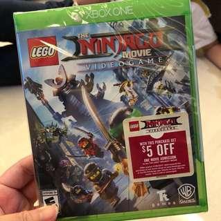 New! Xbox One Ninjago