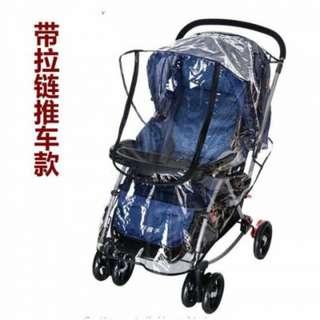通用款嬰兒推車雨罩 尺寸在圖裡喲!一般推車都試用~