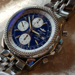 Breitling Bentley Motors GT blue dial