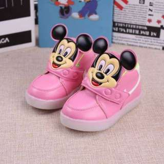 Mickey Mouse Shoe