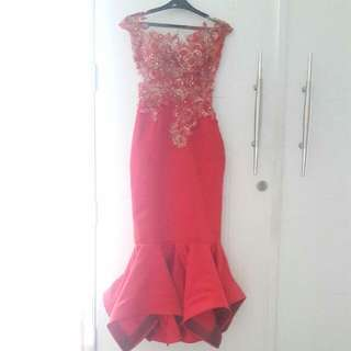Gown Red 3