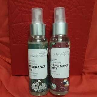 Fragrance mist mineral botanica