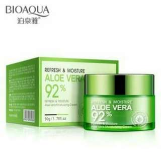BIOAQUA REFRESH CREAM ALOEVERA