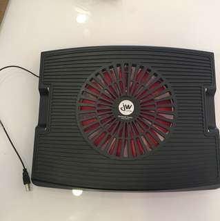 JW laptop cooler for 13 to 15 inches