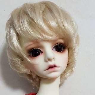 Bjd 1/4 doll wig