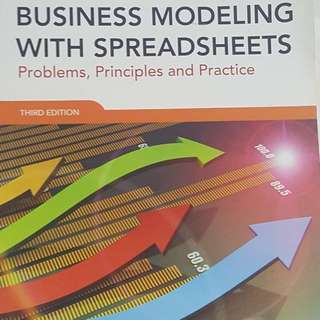 Business Modelling With Spreadsheet Third Edition