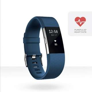 Fitbit Charge 2 Blue L