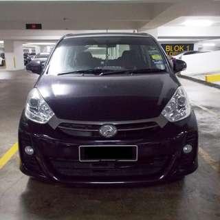 Myvi 1.5SE auto for rent
